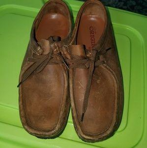 Original Men's Size 8 Clarks Wallabee Shoes